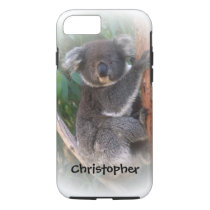 Koala Bear Just Add Name iPhone 7 Case