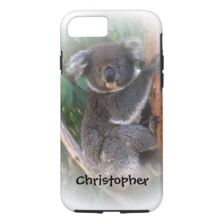 Koala Bear Just Add Name iPhone 8/7 Case