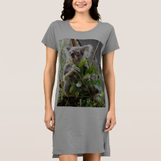Koala Bear Ladies T-shirt Dress / Nightie