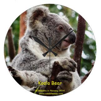 Koala Bear Large Clock