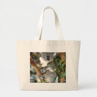 Koala Bear Large Tote Bag