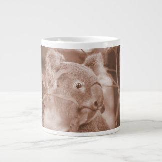 koala bear looking right sepia jpg jumbo mug