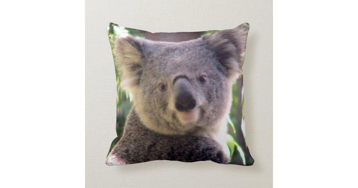 Koala Bear Love Throw Pillow Zazzle