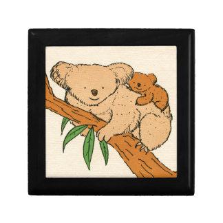 Koala Bear Mama & Baby Jewelry Box