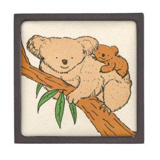 Koala Bear Mama & Baby Keepsake Box
