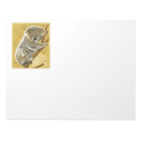 Koala Bear Notepad