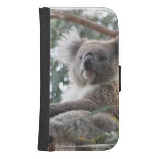 Koala Bear Samsung S4 Wallet Case