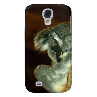 Koala Bear, Sleeping with paw over face Galaxy S4 Covers