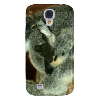 Koala Bear, Sleeping with paw over face Galaxy S4 Cases