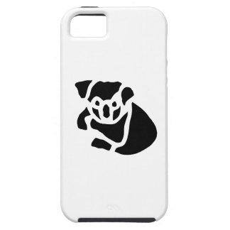 Koala Bear Vintage Wood Engraving iPhone 5 Cover