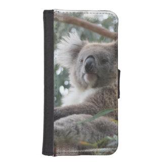 Koala Bear Wallet Phone Case For iPhone SE/5/5s