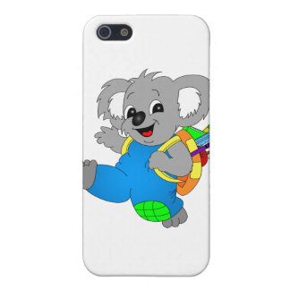 Koala Bear with backpack Case For iPhone SE/5/5s