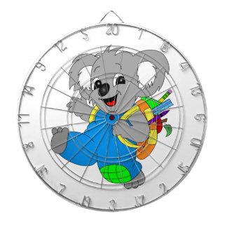Koala Bear with backpack Dartboard With Darts