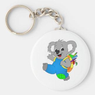 Koala Bear with backpack Keychain