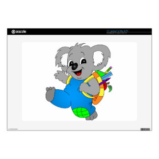 Koala Bear with backpack Laptop Decal