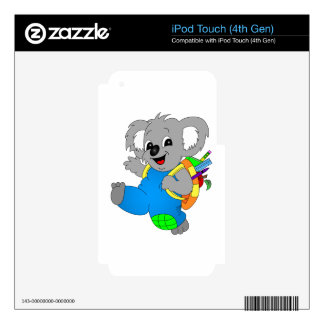 Koala Bear with backpack Skin For iPod Touch 4G