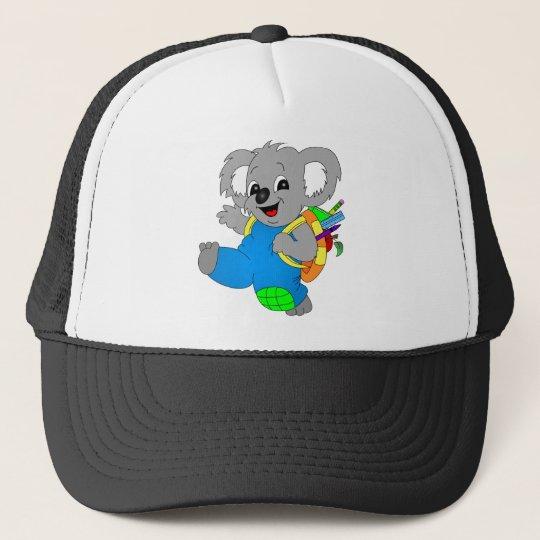 Koala Bear with backpack Trucker Hat