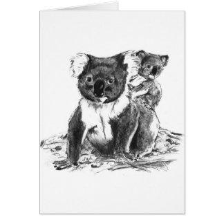 koala bears card