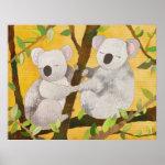 Koala Bears Poster print