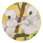 Koala Bears Sticker sticker