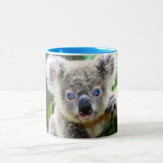 Koala Bears Two-Tone Coffee Mug