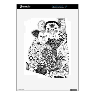 Koala Black&White Art Skin For iPad 2