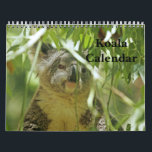 """Koala Calendar<br><div class=""""desc"""">Enjoy these adorable Koalas year round with original images in this calendar.  Perfect for home or the office.  Featuring all original photographs taken by Traci Law.</div>"""
