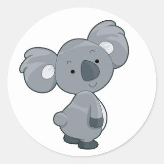 Koala Classic Round Sticker