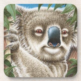 Koala Cork Coaster