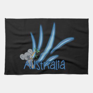 Koala de Australia Toalla De Mano