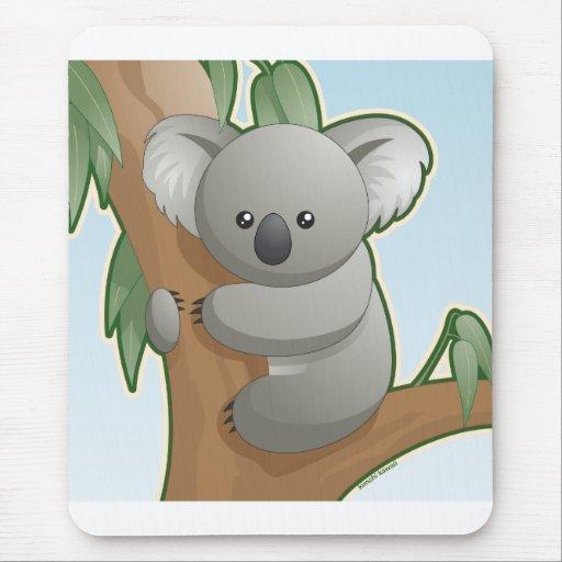 Koala de Kawaii Alfombrilla De Ratones
