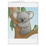 Koala de Kawaii Felicitaciones