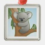 Koala de Kawaii Ornamentos Para Reyes Magos