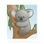 Koala de Kawaii Postales
