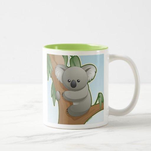 Koala de Kawaii Taza