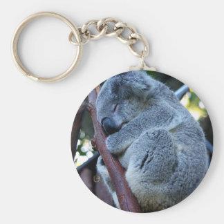 Koala de la empanada de Cutie Llavero Redondo Tipo Pin