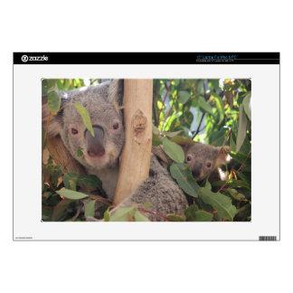 Koala de la madre y del bebé calcomanías para 38,1cm portátiles