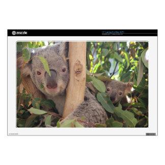 Koala de la madre y del bebé portátil 43,2cm skin
