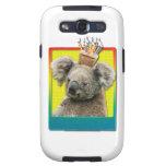 Koala de la magdalena del cumpleaños galaxy s3 protectores