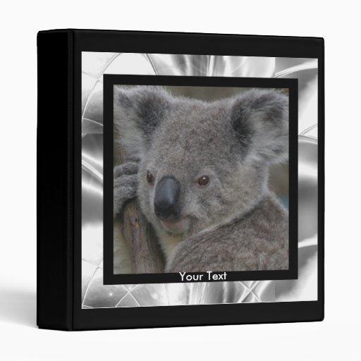 Koala de la plantilla de la carpeta de Avery
