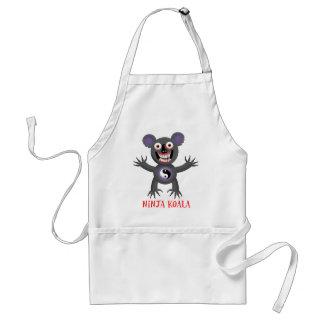 Koala de Ninja Delantal