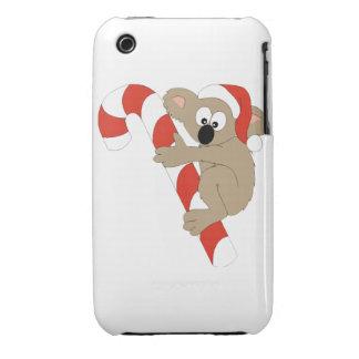Koala de Santa iPhone 3 Case-Mate Carcasas