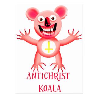 KOALA DEL ANTICHRIST POSTAL