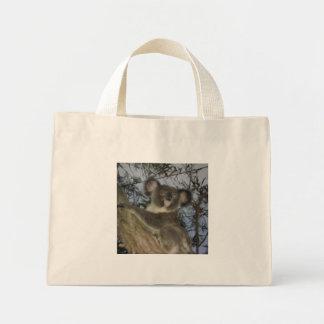 Koala del bebé bolsa tela pequeña