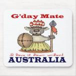 Koala del compañero de G'Day Alfombrillas De Ratones