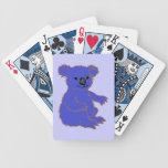 KOALA del parque zoológico Baraja Cartas De Poker
