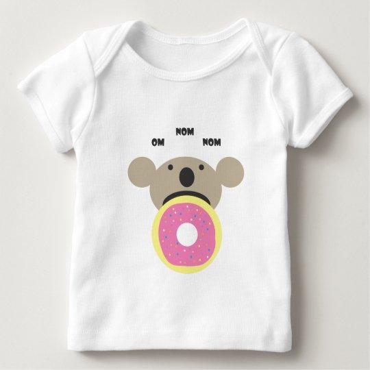 Koala Donut Diet Baby T-Shirt