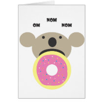 Koala Donut Diet Card
