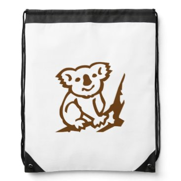 Koala Drawstring Bag