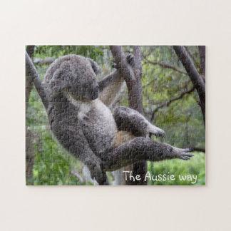 koala - el rompecabezas australiano de la manera